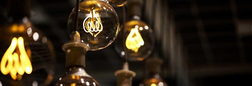 Ampoules tendance à Filament