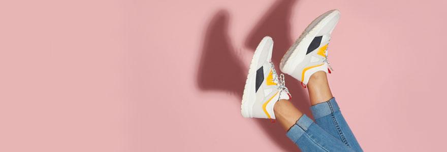 assortir ses sneakers à ses tenues
