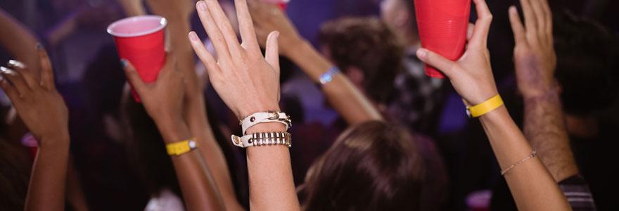 Bracelet évènementiel