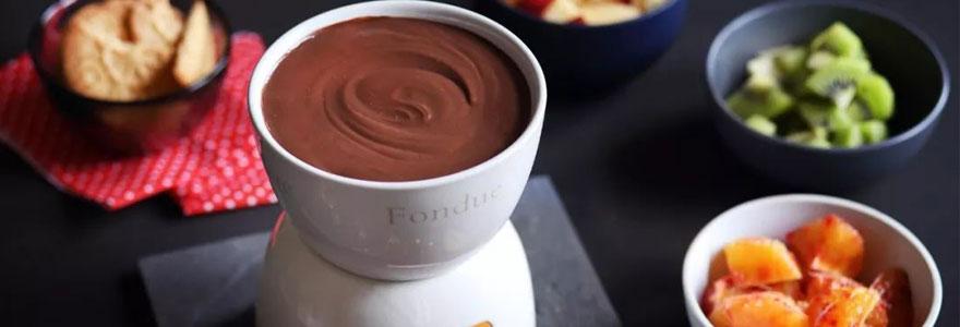 machine pour fondue au chocolat
