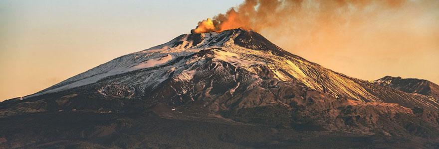 Se rendre au mont Etna