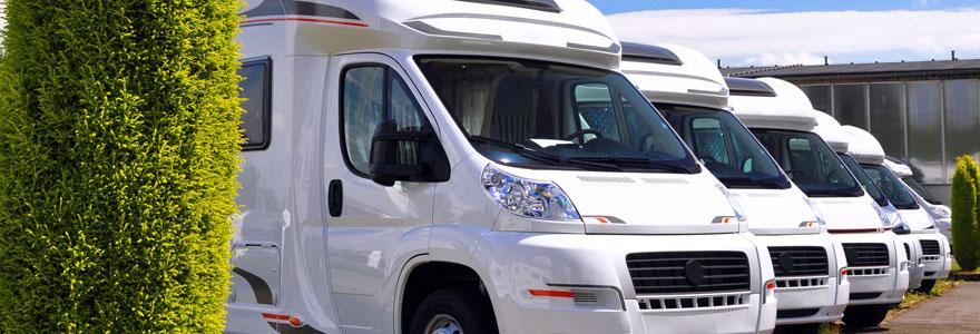 vente de camping cars